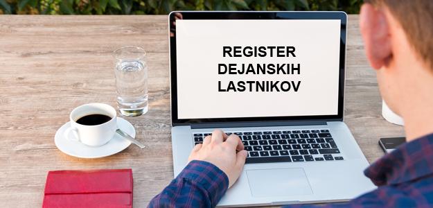 VPIS V REGISTER DEJANSKIH LASTNIKOV (RDL)